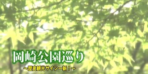 市役所発→情報特急7月特集(2)岡崎公園巡り