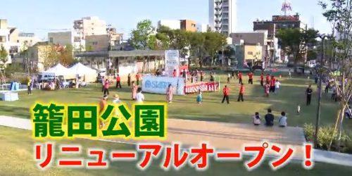 市役所発→情報特急9月特集(2)籠 田 公 園 リニューアルオープン!