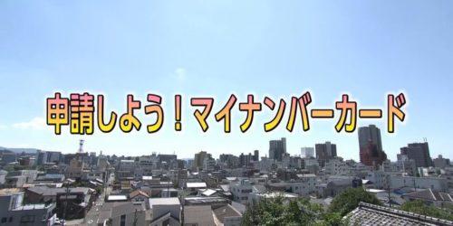 作ってみよう!マイナンバーカード 11月特集(2)