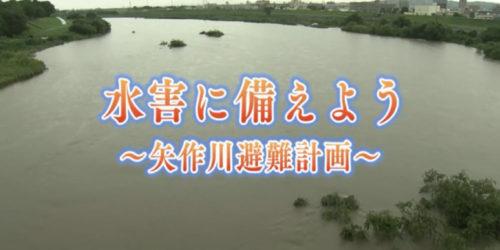 市役所発→情報特急9月特集(1)水害に備えよう~矢作川避難計画~