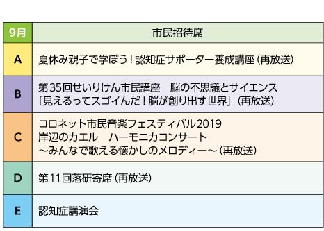 2020年9月号|市民招待席