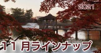 東公園の紅葉|11月のラインナップ|イメージ写真